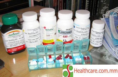အစာမစားခင် TB ဆေးသောက်ပါ